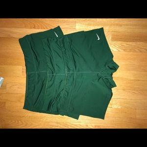 NIKE green spandex BUNDLE